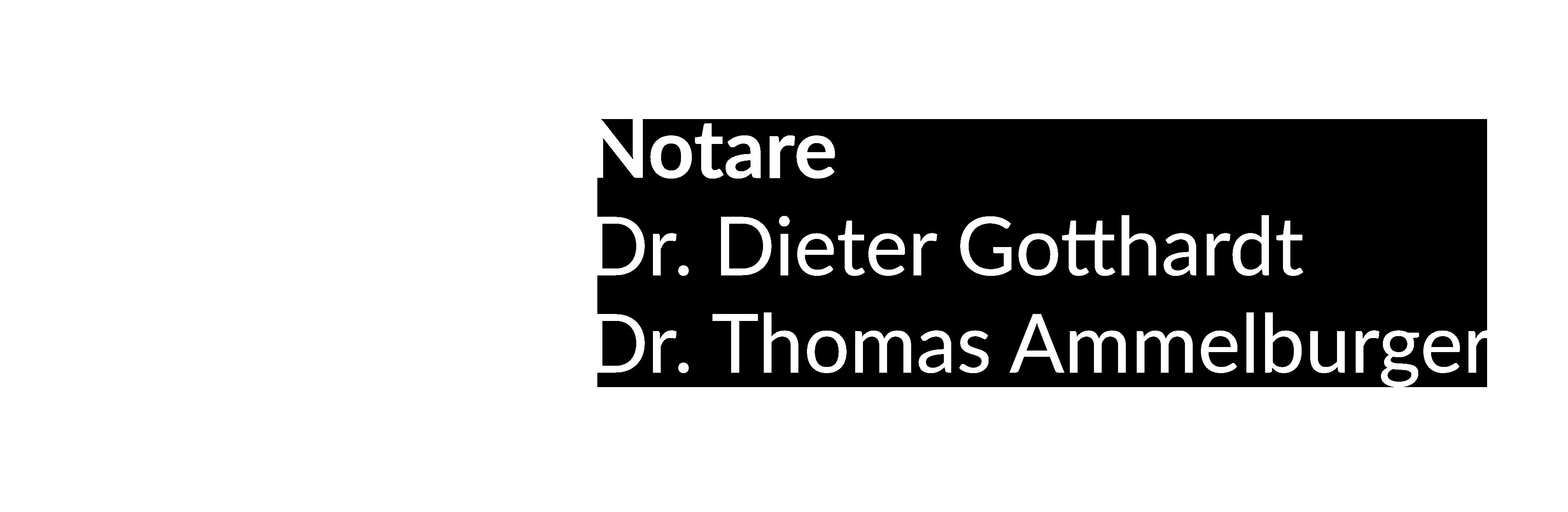 Dr. Dieter Gotthardt und Dr. Thomas Ammelburger